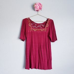 3 FOR $15 Lucky Brand Embroidered Top
